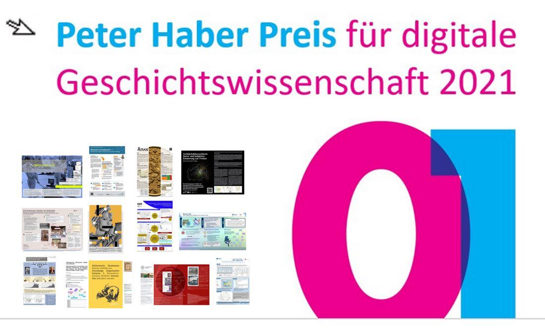 Peter Haber Preis: Programm des Projekt-Pitch beim Historikertag #PHPdigigw21